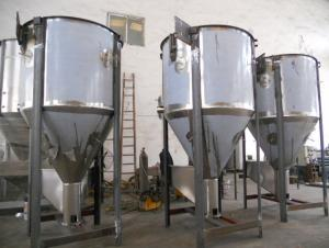heater vertical plastic mixer vertical plastic mixer for Plastic particles,Broken material