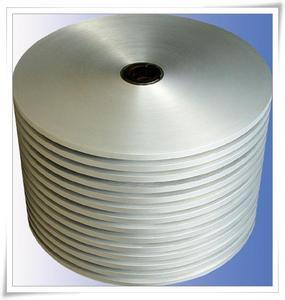 Plastic coated aluminium foil for cable shielding