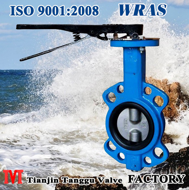 Manual Wafer Butterfly Valve without pin