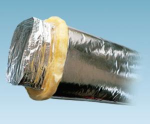 Aluminum Foil Flexible Duct For Ventilation