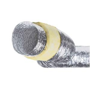 Semirigid Insulated Aluminum Flexible Ducting