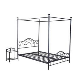 Unique Iron Canopy Bed