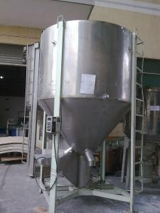 st.st functional plastic mixer for plastic granule mixing machine India supplier