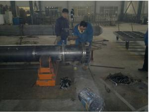 Helical Plateheat Exchanger Machine