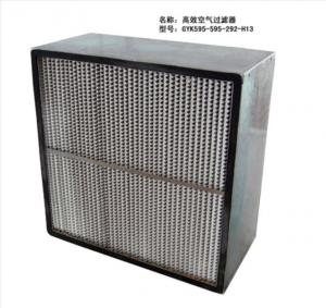 Deep pleated HEPA Filters