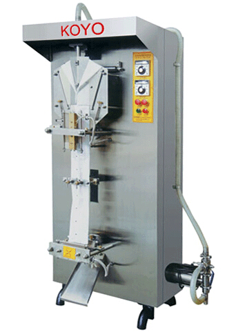XY Model Automatic Liquid Packer Machine Sachets Filling Machine