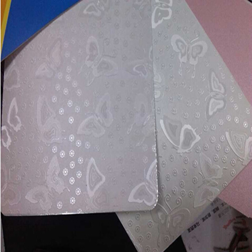 Newest PVC Foil with Leather Design for Covering Kitchen Cabinet