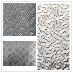 Embossed Aluminum Sheet Plate Manufactured in China