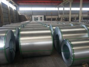 Hot dipped galvanized steel coils