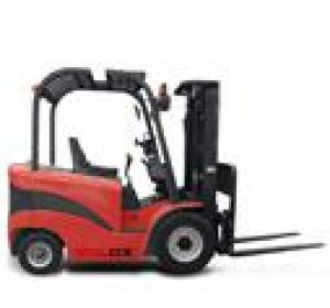 Forklift with 4 supporting points