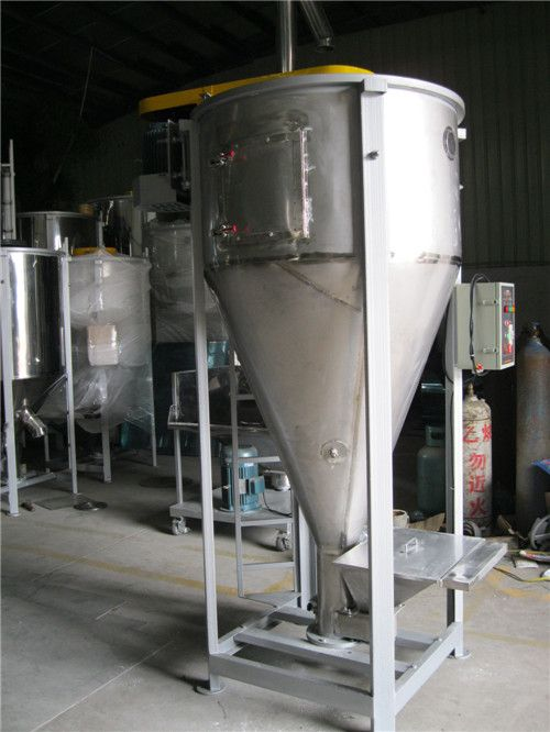vertical plastic mixer 1T with high quality and reasonable