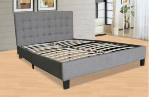 King Size UKFR PU Bed