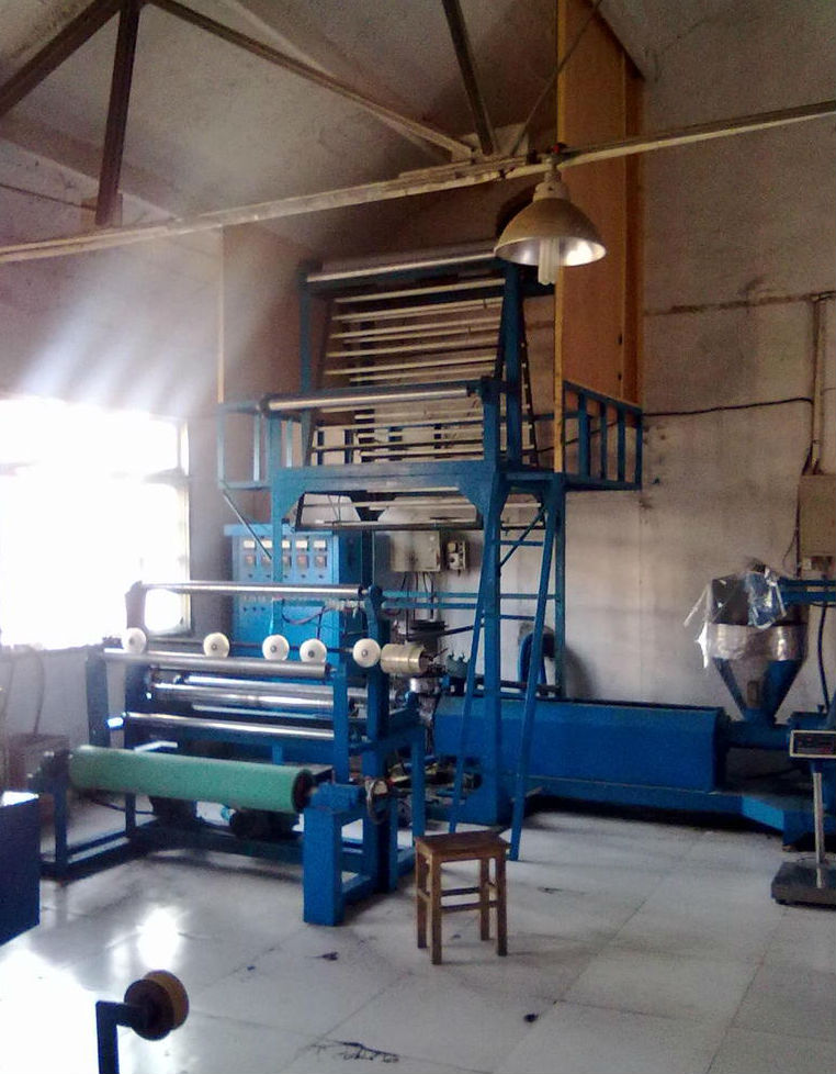 fully automatic HDPE blown film machine