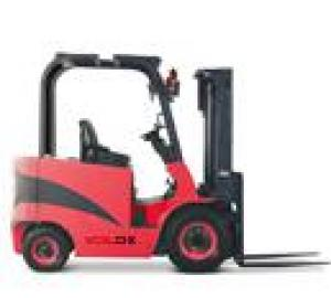 Balance forklift with 4 supporting points