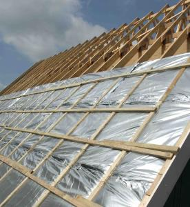Building Roof Insulation Foil Film Made in China