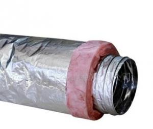 Semi-rigid Aluminum flexible Ducting for HVAC Systems