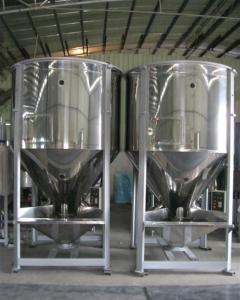 Good Performance 2000kg plasitc raw material machiner vertical plastic mixer
