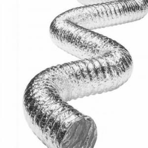 Fully Flexible Aluminum Tube Aluminum Flexible Ducting for HVAC
