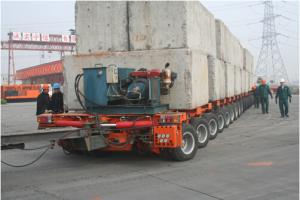 DCM360 Self Propelled Modular Trailer