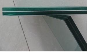 Coated laminated glass 8+1.52pvb+8 Color glass