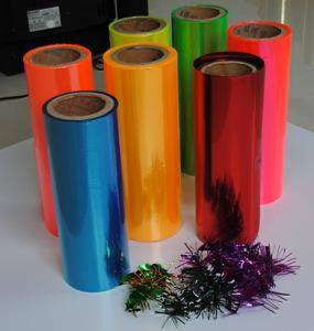 PVC Colour Packing Film Used for Industrial Packaging