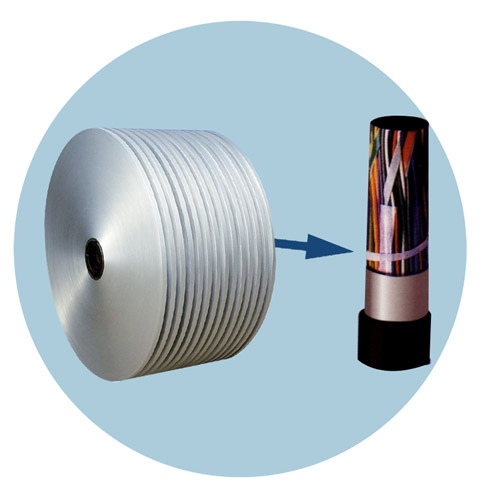 double side non-bonded aluminium foil for cable