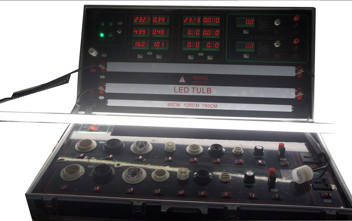 LED Demo Case LED AC DC Lamp Meter LED T8 Tube test