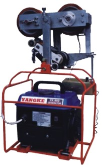 Model ZN50 block recover damper machine