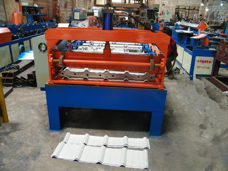 Steel tile machinery