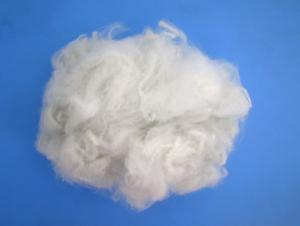 Raw white recycled polyester staple fiber 1.4D 38mm