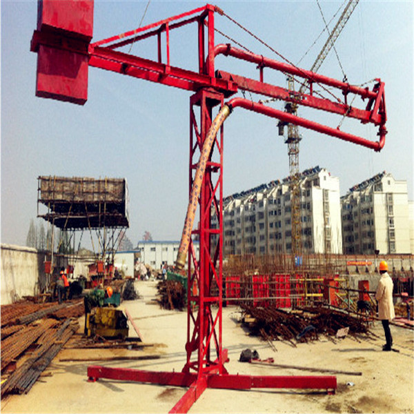 Engineering Construction High Preformance Concrete Placing Boom