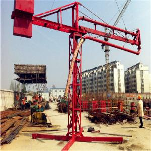 Manual 12m concrete placing boom for sale
