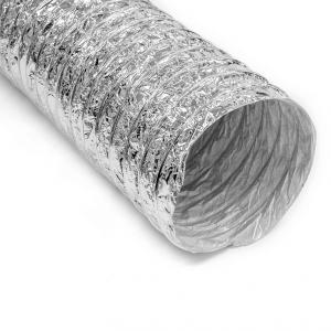 Semi Rigid Insulated Aluminum Flexible Ducting
