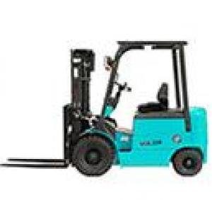 Electric forklift with 4 supporting points second serie