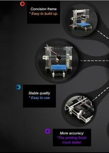 ZJ605 3D Printer