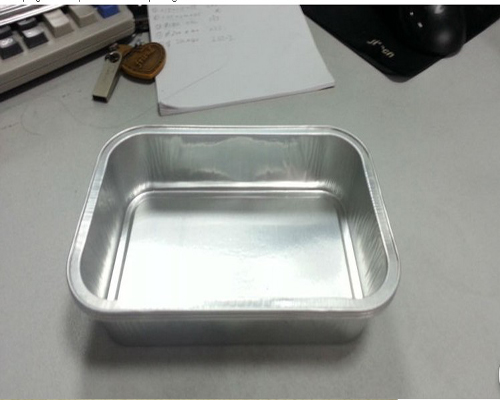With Lid Airline Alulminum Foil Container
