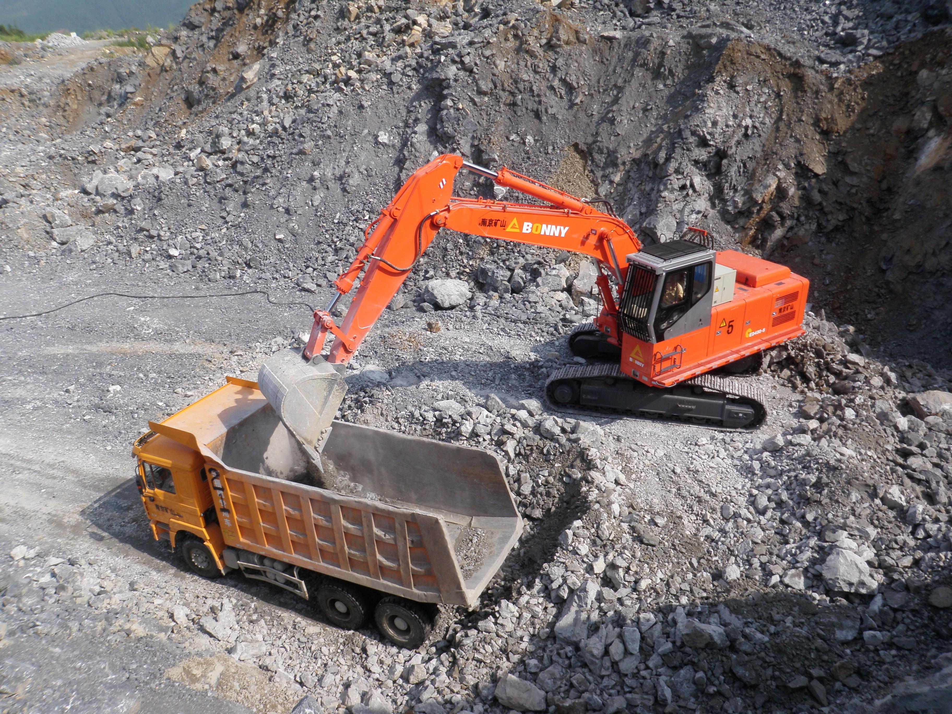 Electro-hydraulic excavatorCED480-8