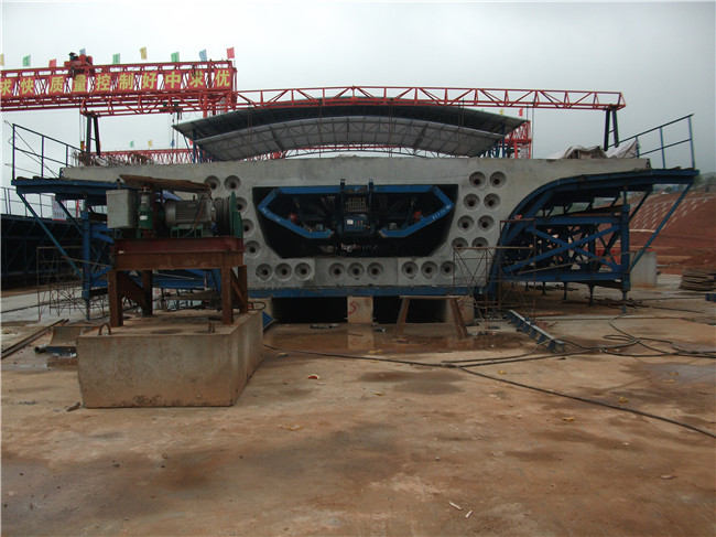 Hydraulic Box Girder Formwork