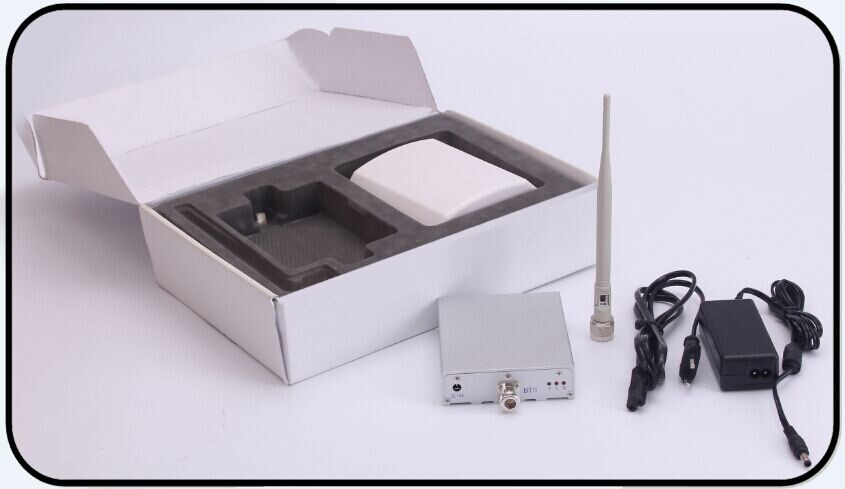WCDMA 2100MHz 3G Single Band Mobile Signal Booster Amplifier Repeater Full Kits