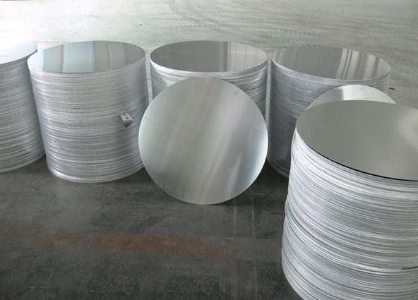 Aluminium Circle in grade A1XXX Hot Rolled DC