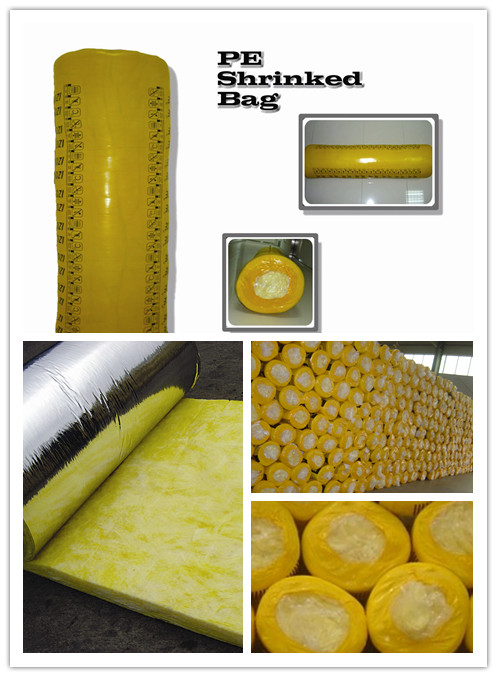 Fiber Glass Wool For Insulation Glass Wool Board