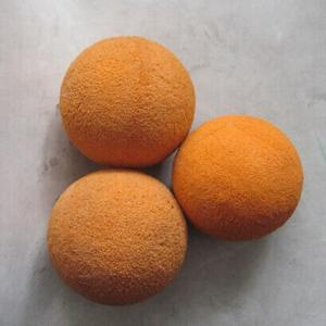 zoomlion parts concrete pump sponge cleaning balls