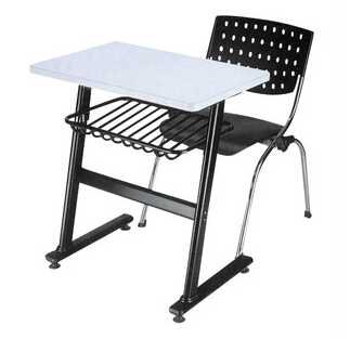 MDF and Chromed metal student desk and chair SDC-0812