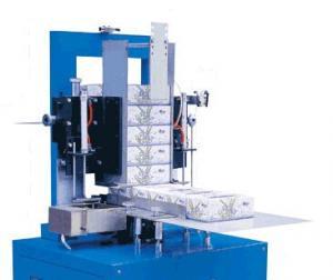 automatic facial tissue cardboard box sealing machine