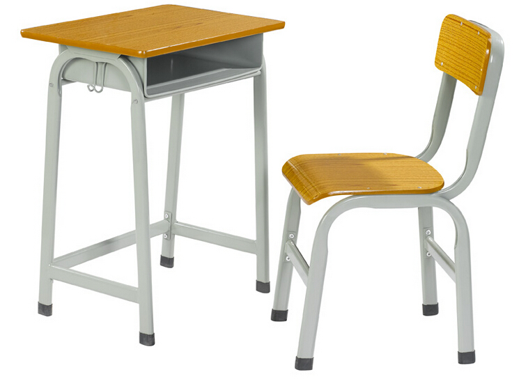 Single Student Desk and chair SDC-0302