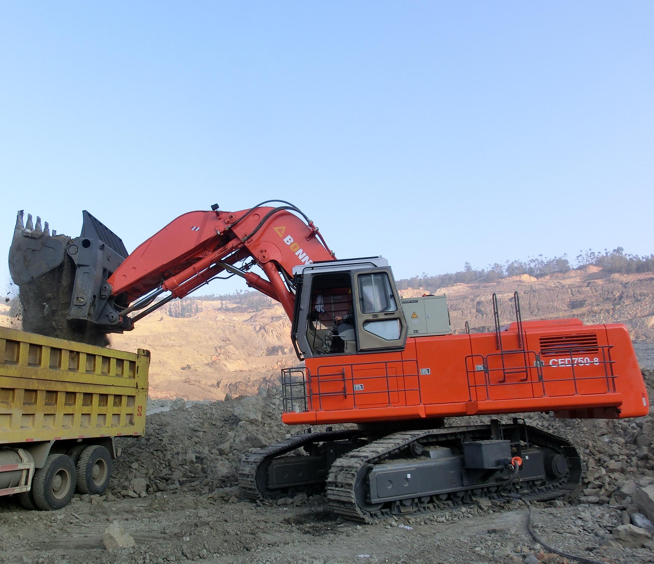 Electro-hydraulic excavatorCED750-8