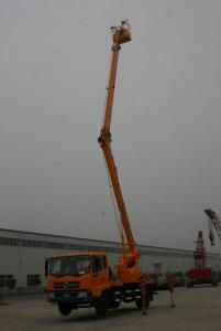 Articulated boom aerial working platform working height 20m