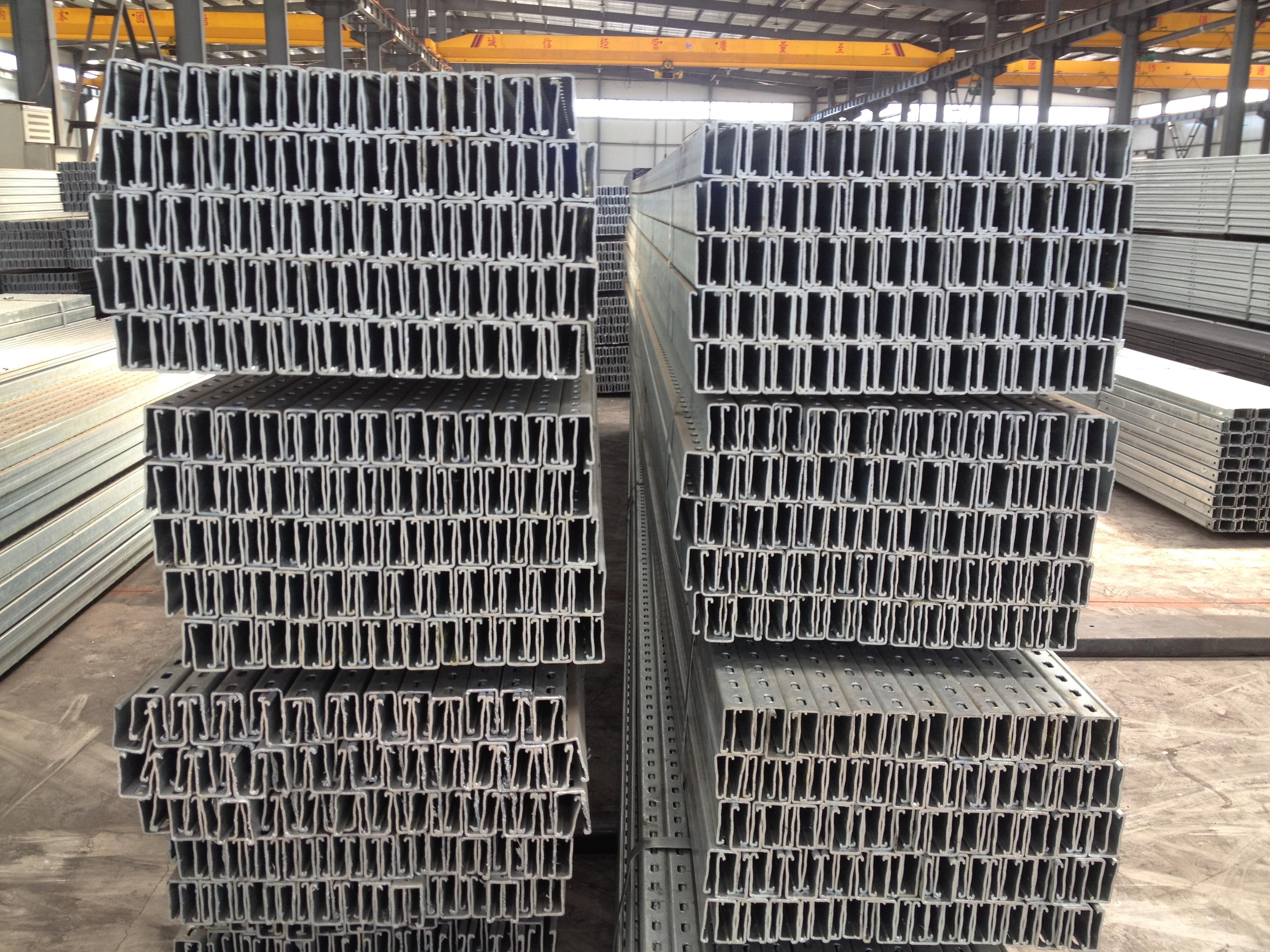 Photovoltaic Solar Hot Dip Galvanized C Steel