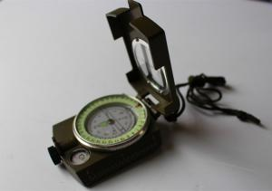 Army compass or military compass in aluminium material