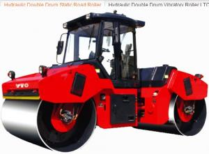 hydraulicdouble drum static road roller